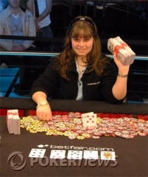 The youngest WSOP bracelet winner.... Annette_15