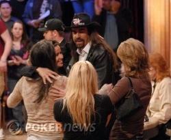 Chris loves the ladies and the ladies love Chris.