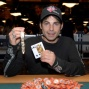 David Singer, winner of WSOP Event #3