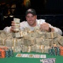 Michael Banducci, winner of mixed hold'em championship