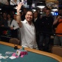 Thang Luu shows us the gold WSOP bracelet