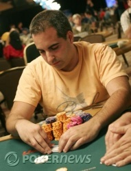 Chip leader Matt Glantz