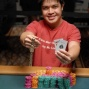 Anthony Rivera with new gold WSOP bracelet