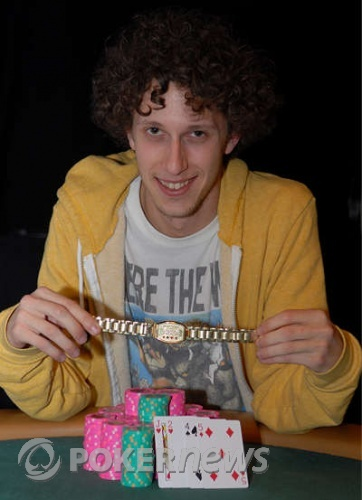 Andrew Brown, winner 2008 WSOP Event #16