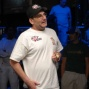 Mike Matusow speaks to the crowd
