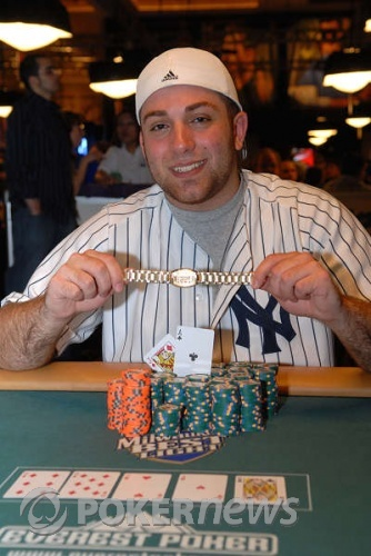 Jason Young, winner 2008 WSOP Event #17