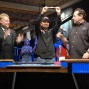 Daniel Negreanu showsoff his fourth WSOP bracelet