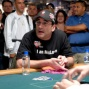 Mike Matusow entertains the crowd