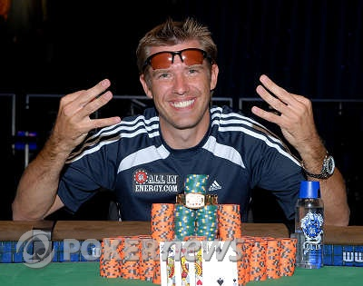 Layne Flack 2008 WSOP $1,500 Pot-Limit Omaha w/Rebuys Champion