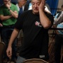 An emotional Michael Rocco moments after winning