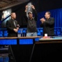 Frank Gray shows offr his first WSOP bracelet