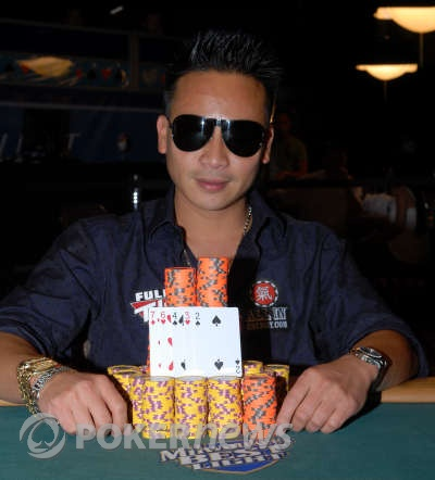 John Phan, 2008 WSOP $2,500 2-7 Triple Draw Champion