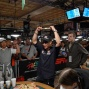 John Phan holds high his second 2008 WSOP bracelet