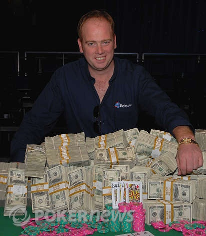 Marty Smyth, 2008 WSOP $10,000 Pot Limit Omaha World Champion