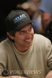 Actor/comedian Ray Romano survived Day 1a action, finishing with 61,025 in chips