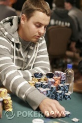 Brian Schaedlich, current chip leader