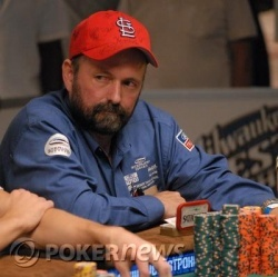 Dennis Phillips has the inside track to the final table beginning Day 7