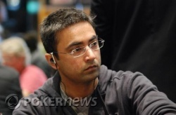Likely overnight chip leader Manish Sansi