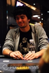 """""""TheBigSiCkO"""" is a bit sick of the other players at his table."""