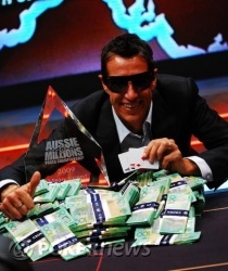 Stewart Scott - Champion of the 2009 Aussie Millions Main Event!