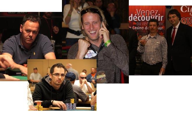 PokerNews live-reporting team richting Namen voor de BOPC 101