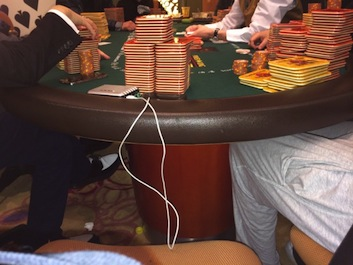 A look at the insane amount of cash on the table in the Macau Big Game!