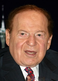 Sheldon Adelson (photo credit: WikiCommons)