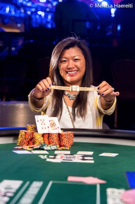2014 WSOP Day 34: Zhang, Langmann Win; Trickett Day 1 Big One for One Drop Leader 101