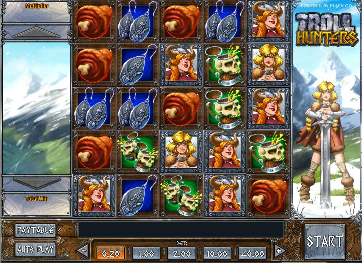 Troll Hunters slot - join the brave vikings at Casumo
