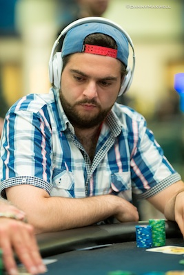 A Dynamic Three-Way Hand Deep in the PCA Main Event 102