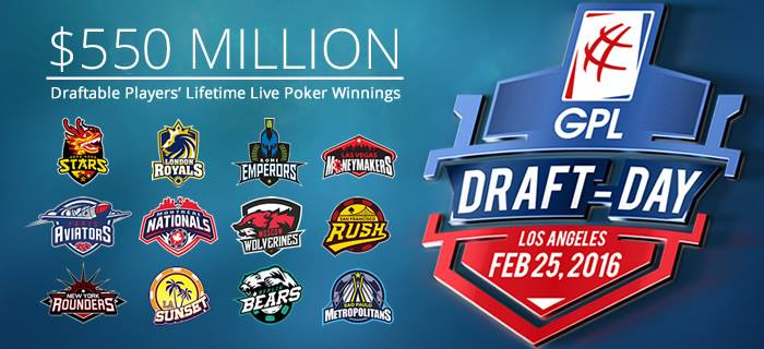 Global Poker League Draft List Announced: 203 Players, More Than 0M in Earnings 101