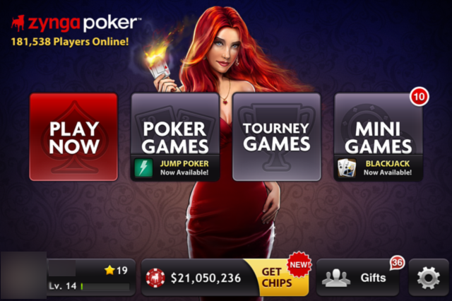 real money poker games on smartphone