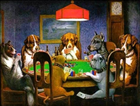 Poker & Pop Culture: Dogs Playing Poker 101