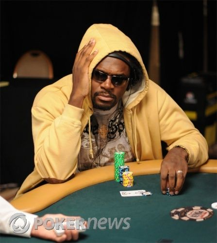 Audley Harrison at the World Series of Poker