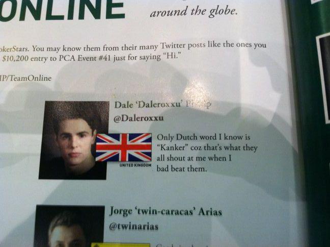 Tweet Tweet, Bad Beat - Glantz op dreef en schelden met Dale Phillip 102