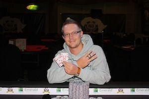 Armand Saayman, winner of Event #5