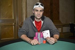 Keith Binder, winner of Event #6