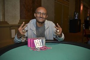 Abraham Araya, winner of Event #7