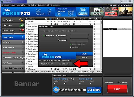 Poker770: Hoe krijg ik  gratis? 101