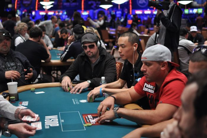 Brad Booth and Chino Rheem next to each other in Event #26