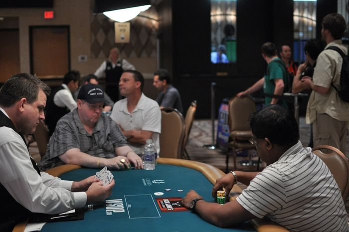 Hal Lubarsky and Viktor Ramdin are heads-up