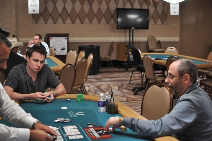 Mike Thorpe and Barry Greenstein are also heads-up