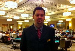 Jed Wickers, TD poker room Caesar's Palace