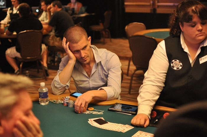 Gus Hansen in $50,000 Poker Player Championship