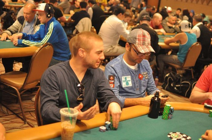 Chance Kornuth And Daniel Negreanu Share A Joke