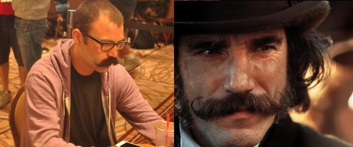 Mustache Man / Daniel Day Lewis