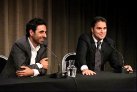 Press conference, June, 2012