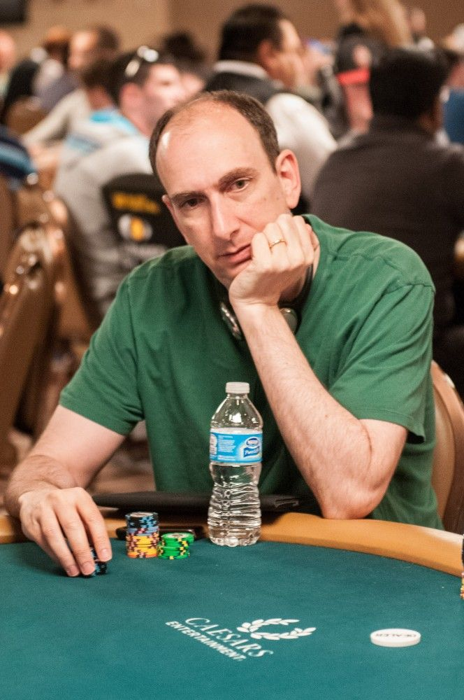 Erik Seidel at the Table of Death in Event #6