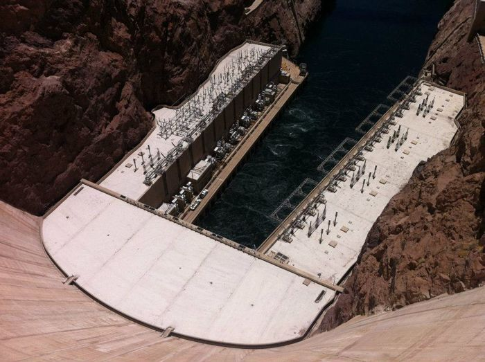 Ik was weer bij de Hoover Dam
