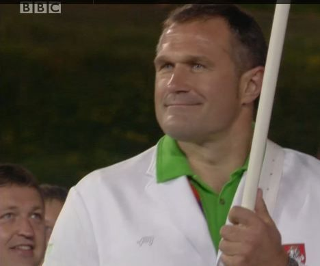 Tony G at the Opening Ceremonies of the 2012 Olympics